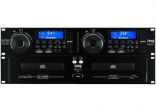 Profesjonalny podwójny odtwarzacz CD dla DJ Monacor CD-270DJ