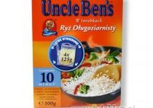 UNCLE BEN?S Ryż długoziarnisty w torebkach 4x125g