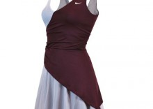 sukienka tenisowa NIKE GOLDEN SET CLAY FRENCH OPEN DRESS Maria Sharapova 2010