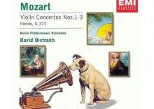 Berliner Philharmoniker, David Oistrach - Encore - Mozart: Violin Concerto Nos.1-3; Rondo, K.373