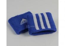 Opaski na nadgarstek Adidas FAF Wristband frotka
