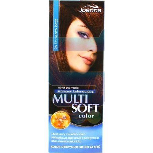 JOANNA Multi Soft Color Szampon Koloryzujący Nr 26 Korzenny Brąz