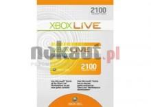 Akcesorium MICROSOFT XBOX Live 2100 punktów