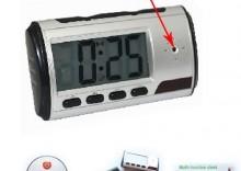 Kamera - Elektroniczny zegar stojący DVR