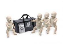 Zestaw Prestan Baby ze wskaźnikiem - 4 niemowlęta RKO/AED