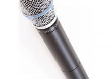 """Nadajnik """"do ręki"""" z mikrofonem Beta87A Shure ULX 2/BETA87A"""