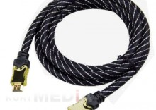 1.3m HDMI High Speed With Ethernet Gold Premium AM/AM