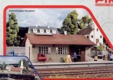 Piko 61824 - Magazyn kolejowy Burgstein