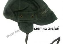 YORKER czapka sztruksowa Explorer czapeczka 46-47 cm zielona