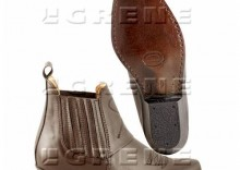 Buty kowbojki krótkie brąz roz. 45