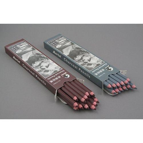Węgiel w ołówku Martol - Kolor: brązowy