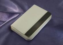 Wizytownik - biały - z dowolnym grawerem WZ008