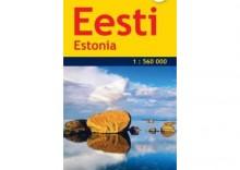 Eesti/Estonia. Mapa samochodowa 1:560 000 wyd. Jana Seta