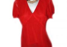Piękna bluzka żorżeta orientalna