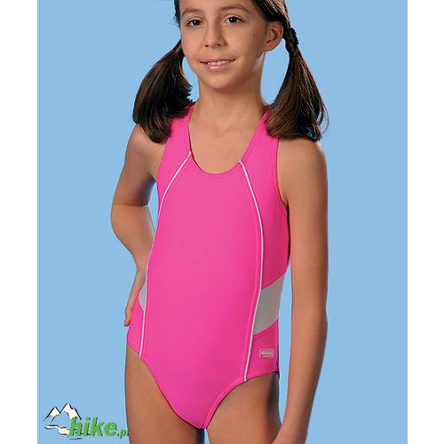 dziecięcy kostium kąpielowy gWinner Britta różowy