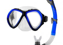 Zestaw do nurkowania AQUATIC maska Zona + rurka Elba