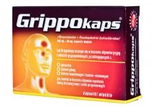 Grippokaps 0,25g+0,03g x 24 kaps