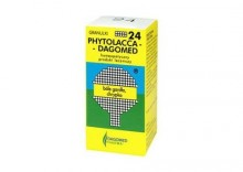 DAGOMED Nr 24 PHYTOLACCA - bóle gardła chrypka homeopatia granulki 175granulek