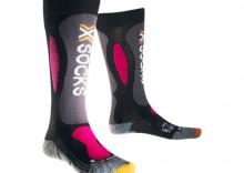 Skarpety narciarskie X-SOCKS SKI CARVING SILVER LADY