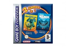 2 w 1: Finding Nemo + Monsters Inc