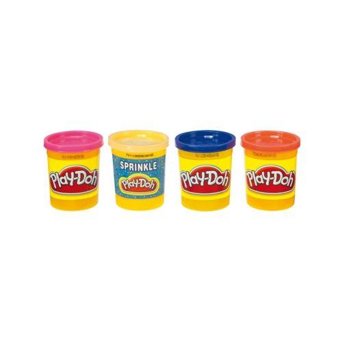 Ciastolina Play-Doh 4 tuby uzupełniające tropikalne