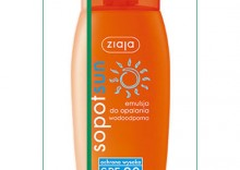 Ziaja Sopot Sun, emulsja do opalania wodoodporna, SPF 20, 150ml