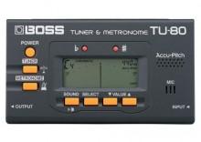 BOSS TU-80 Tuner chromatyczny/metronom