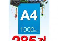 Ulotki A4 - 1000 sztuk