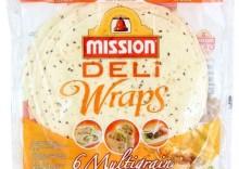 DELI Wraps Tortilla pszenna z siemieniem lnianym 6 szt 370g