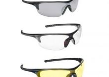 PRO-okulary Boost, czarne, żółte szkła