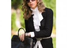 Sweterek Chanel Czarny