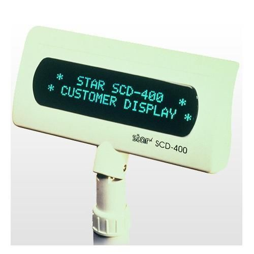 Wyświetlacz klienta SCD-400, VFD do urządzeń POS