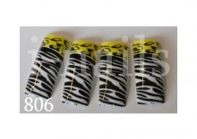 Tipsy Air-brushabr806 panterka + zebra 20 szt