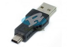 Adapter przejściówka USB - mini USB
