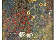 Wiejski ogr�d ze s�onecznikami - Gustav Klimt