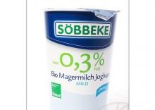 Sobbeke: jogurt naturalny max. 0,3% BIO - 500 g