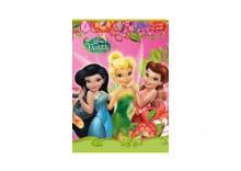 Zeszyt Disney Wróżki A5 w 3 linie 16 kartek linia dwukolorowa Dreams różowy