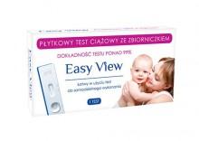 Easy View płytkowy test ciążowy - 1 sztuka Kurier: 13.75, odbiór osobisty: GRATIS