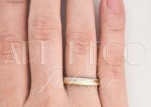 Złote Obrączki Ślubne Verona by Yes wzór 508