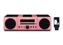 Yamaha MCR-140 różowy