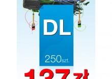 Ulotki DL 99/210 - 250 sztuk
