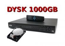 REJESTRATOR CYFROWY 16 KANAŁOWY BCS 1604 LE-AS + HDD 1000GB/1T