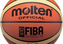 Piłka do koszykówki Molten Official FIBA B7-GL