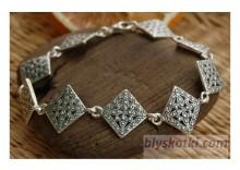 HELIO - srebrna bransoletka