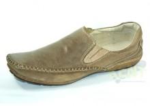 KENT 089 BRĄZ NUBUK - Najbardziej modne skórzane buty
