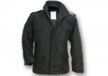 Mega Rozmiar Kurtka M65 Fieldjacket - czarna