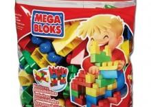 Mega Bloks - klocki w torbie 70 el