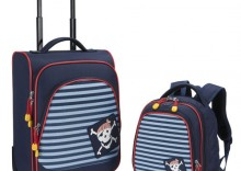 Komplet walizka + plecak Pirat Travelite Youngster 80700