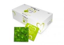 Jabłkowe prezerwatywy MoreAmore Condom Tasty Skin Apple 100 sztuk