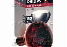Promiennik podczerwieni 150 W czerwony Philips HardGlass